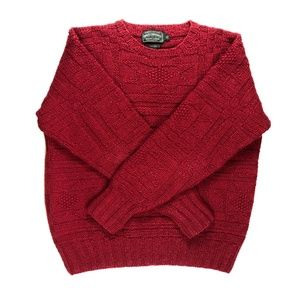 Ralph Lauren Polo Country Hand Knit Wool Sweater
